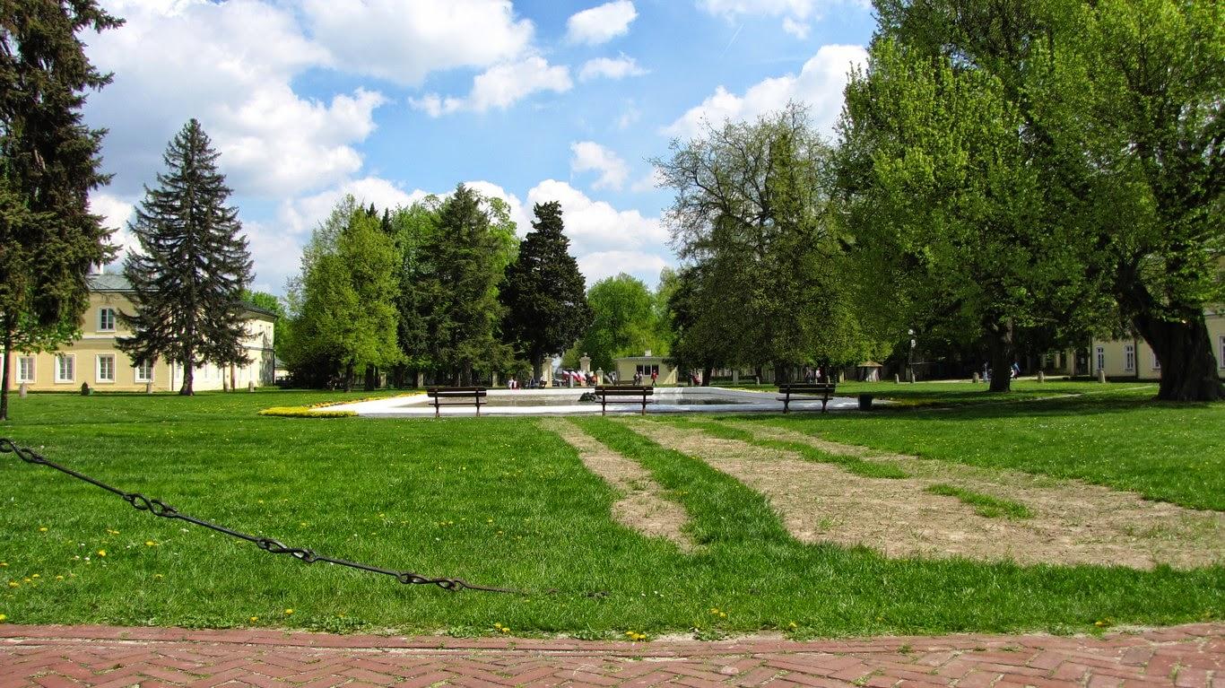 Puławy - park pałacowy