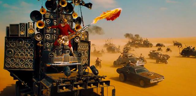 Conheça a história de Coma Doof, o guitarrista flamejante de Mad Max: Estrada da Fúria