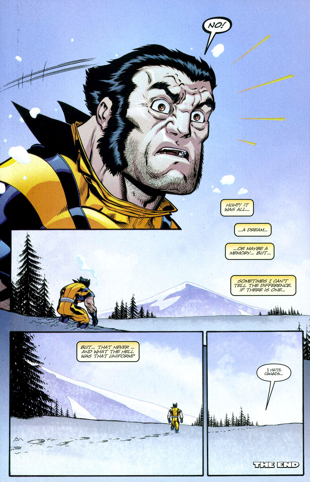 Read online Wolverine (2003) comic -  Issue #50 - 30