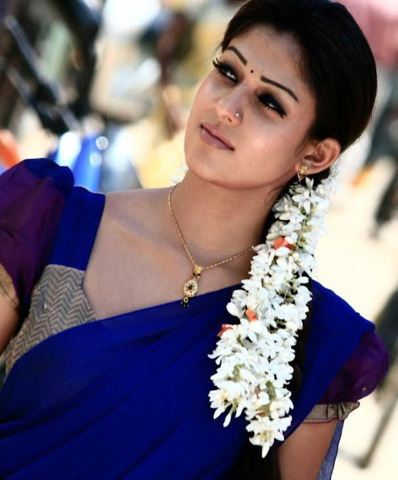 nayantara in half saree glamour  images