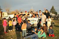 La Cámpora Bragado: Jornada solidaria en el barrio Mitchel