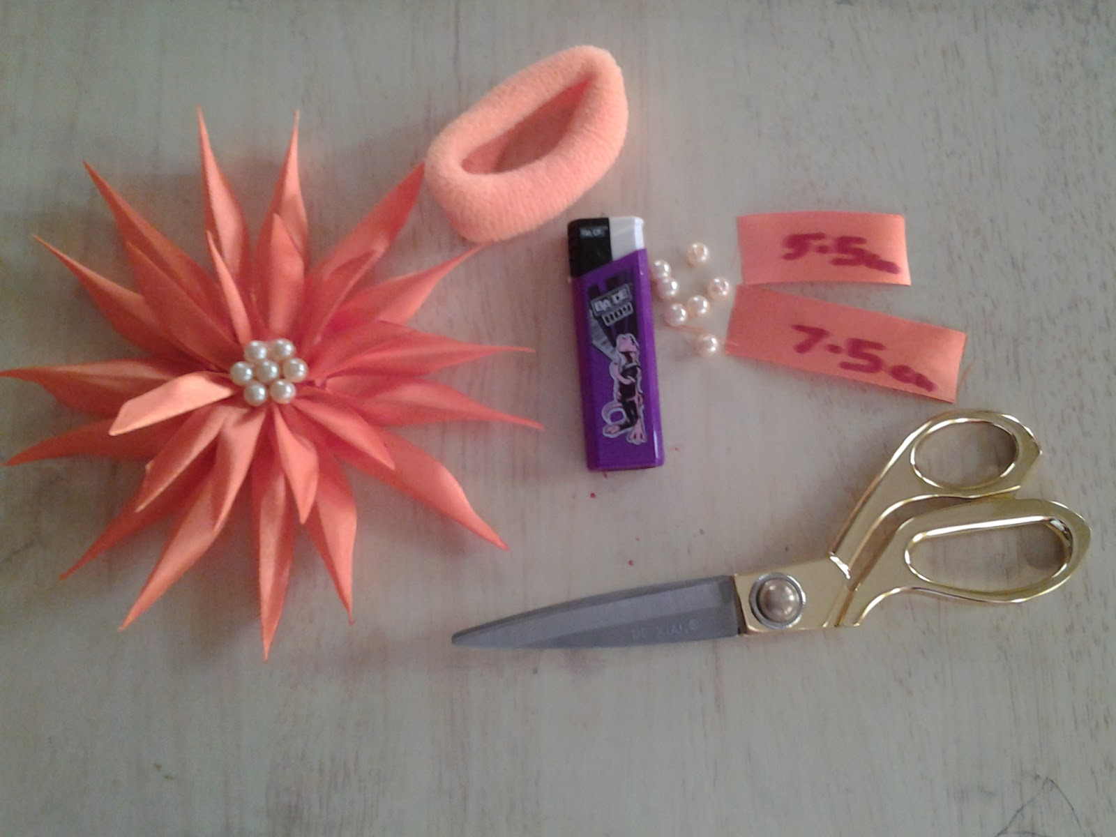 Ribbon Flower Making Home Safe