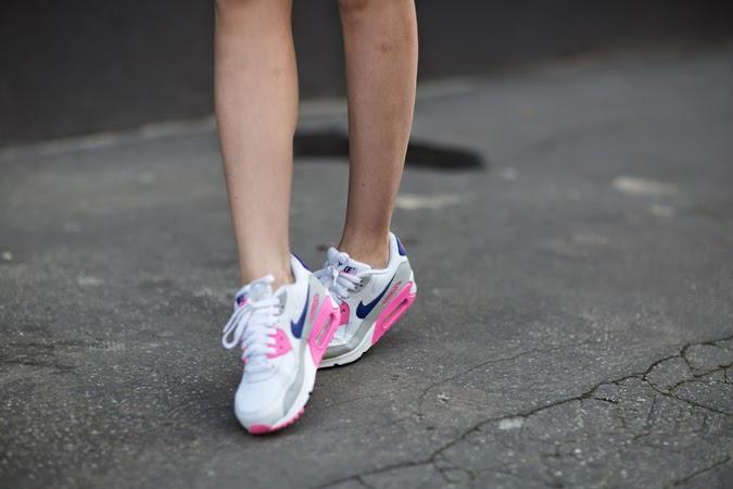 Inspiración rosa street style Nike