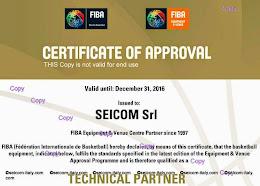 FIBA Certificato SEICOM