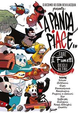 a panda piace fare i fumetti degli altri (e viceversa)