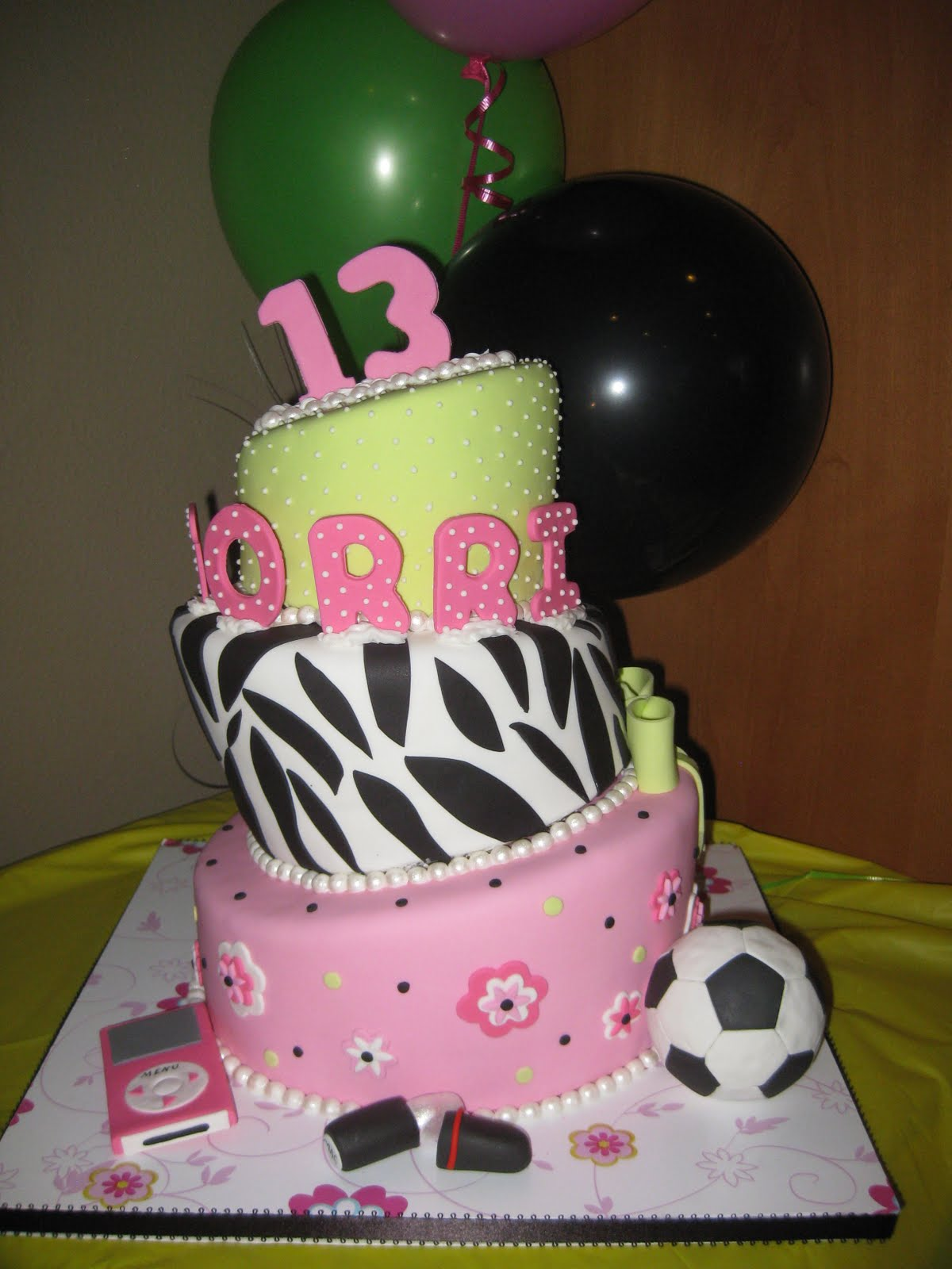13 birthday cakes ideas