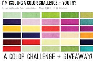 Color challenge + giveaway BrandyGirlBlog