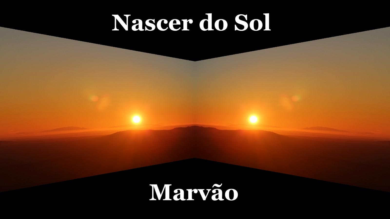 Nascer do Sol em Marvão-Titulo