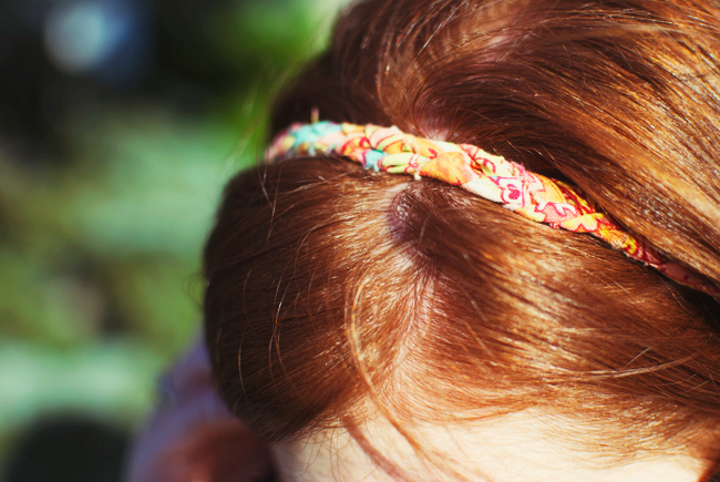 DIY headband, DIY accessories, Tiny Painter