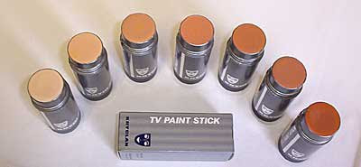 how to use kryolan tv paint stick
