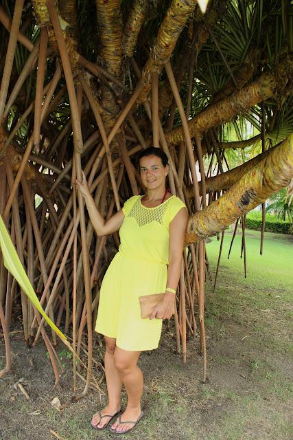 Robe kookai jaune, Punta Cana, Grand Bahia Principe Bavaro