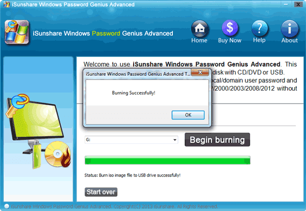 how to create a windows 7 reset passwaord disk