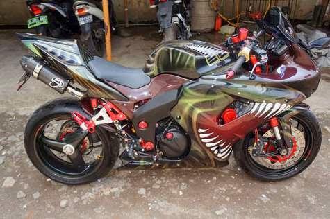 terbaru modifikasi ninja 4 tak 2014