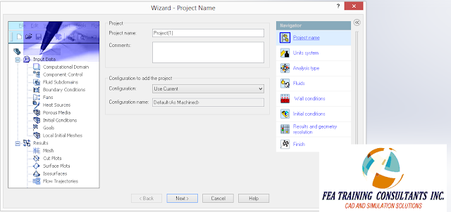 flow wizard solidworks
