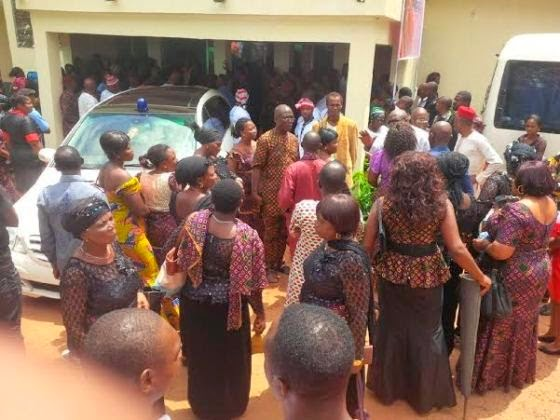 Photos: Late Amaka Igwe Laid to Rest in Imo State