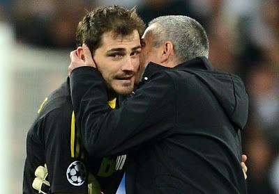 Mourinho explicó los motivos por los que Casillas fue suplente