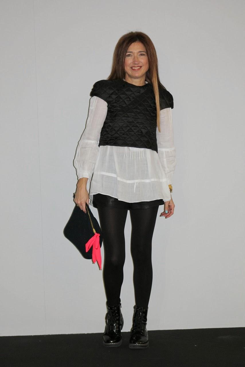 Street Style MBFW Madrid, Top Leyre Valiente, Carmen Hummer