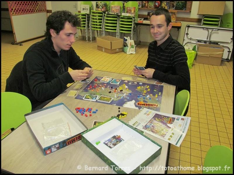 Pandémie - Jeu coopératif
