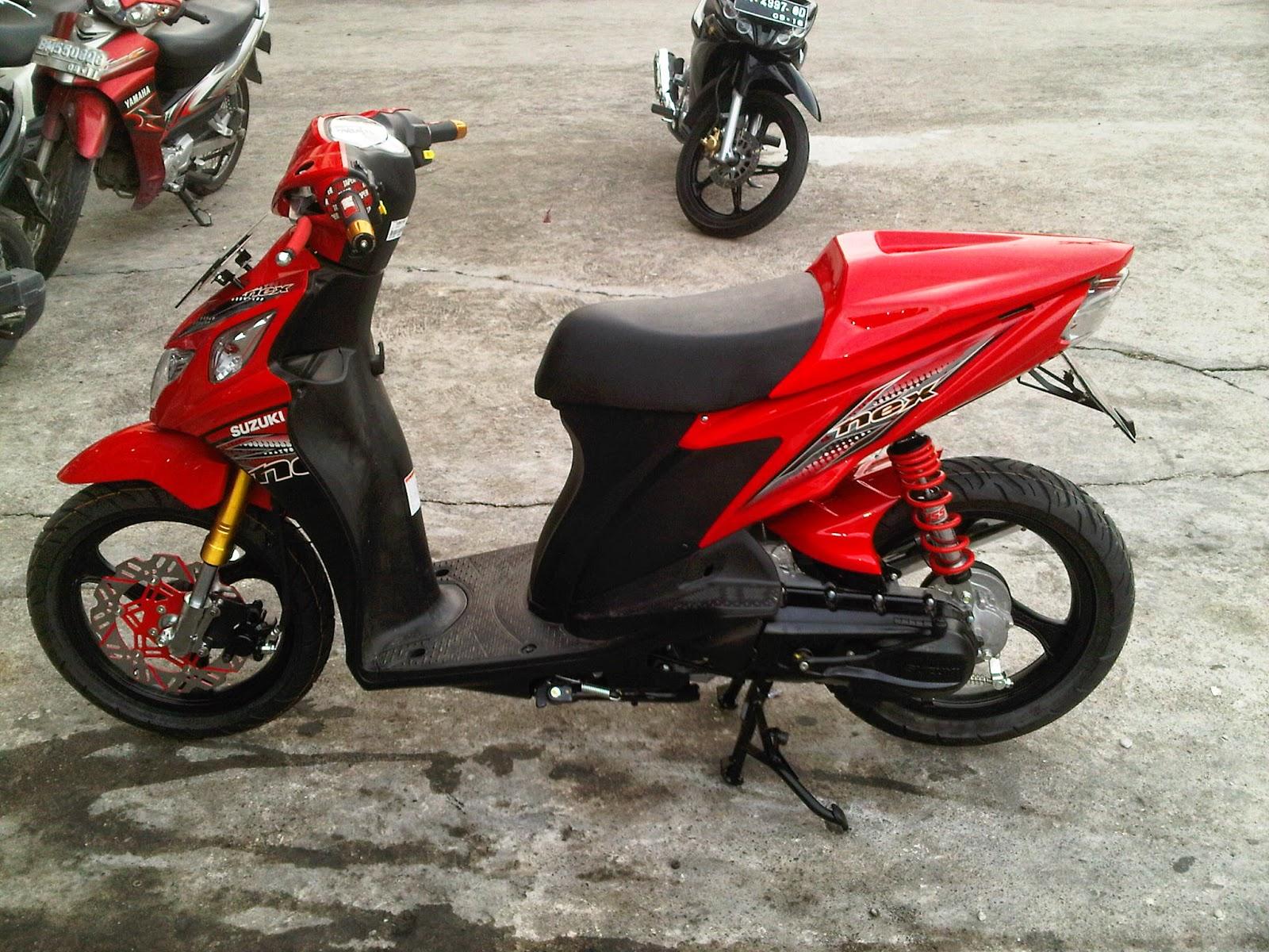 Foto Modifikasi Suzuki Nex Terbaru 2015