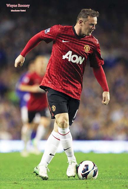 Wayne Rooney Poster- 6921