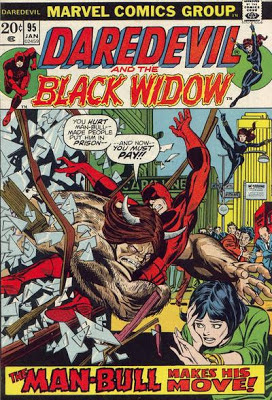 Daredevil and the Black Widow #95, The Man-Bull