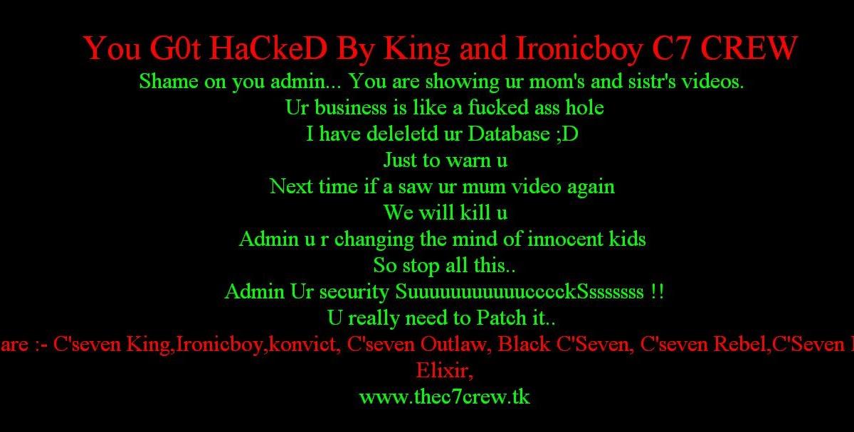 hacks for porn sites