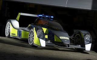 police Panda Car
