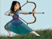 Nữ cung thủ Mộc Lan, game bắn cung hay tại GameVui.biz