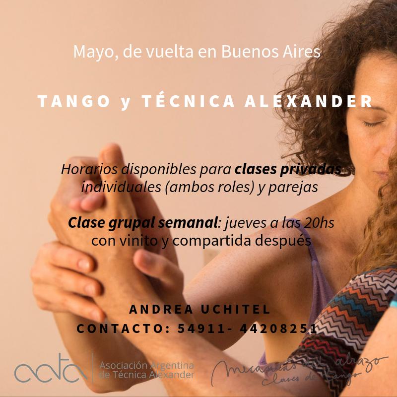 Aportes de la Técnica Alexander al Tango