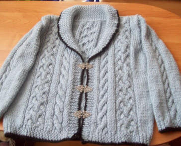 Sweterek robiony dla teściowej