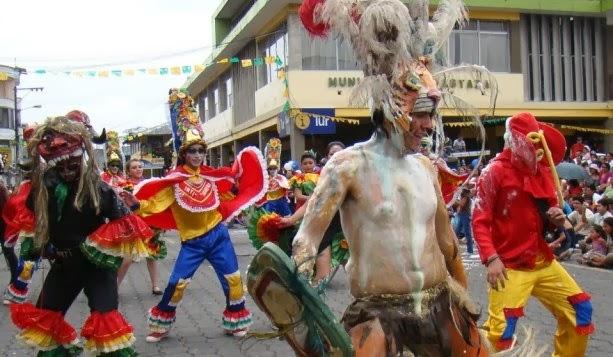 Programa completo del Carnaval en Puyo 2014