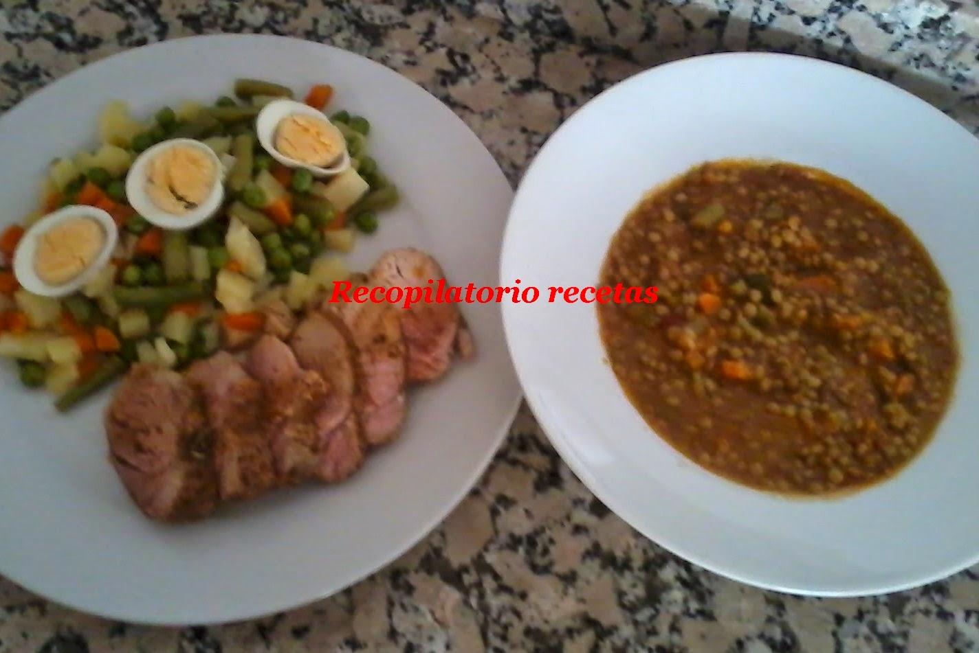 recopilatorio de recetas thermomix varoma y cocina a niveles