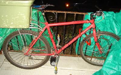 Bicicleta eléctrica vieja