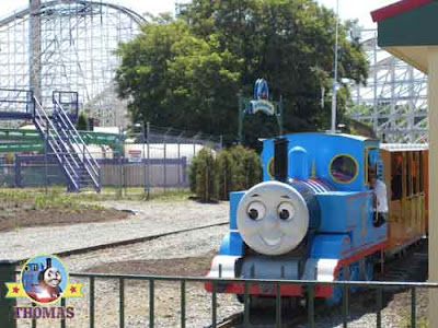 Magic Six flags theme park America a great childrens adventure kingdom with Thomas the tank engine