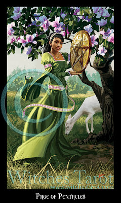 oracle de la triade - Page 3 Page+of+Pentacles-W
