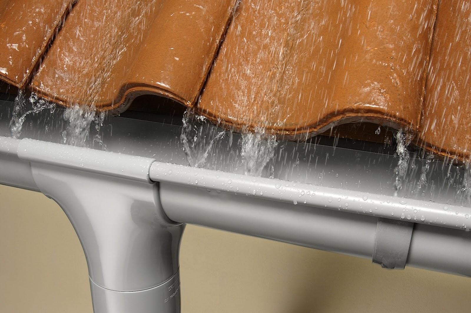 Водостоки для крыши своими руками: как сделать водосточную 65