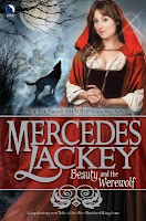 Book cover of Beauty and the Werewolf by Mercedes Lackey