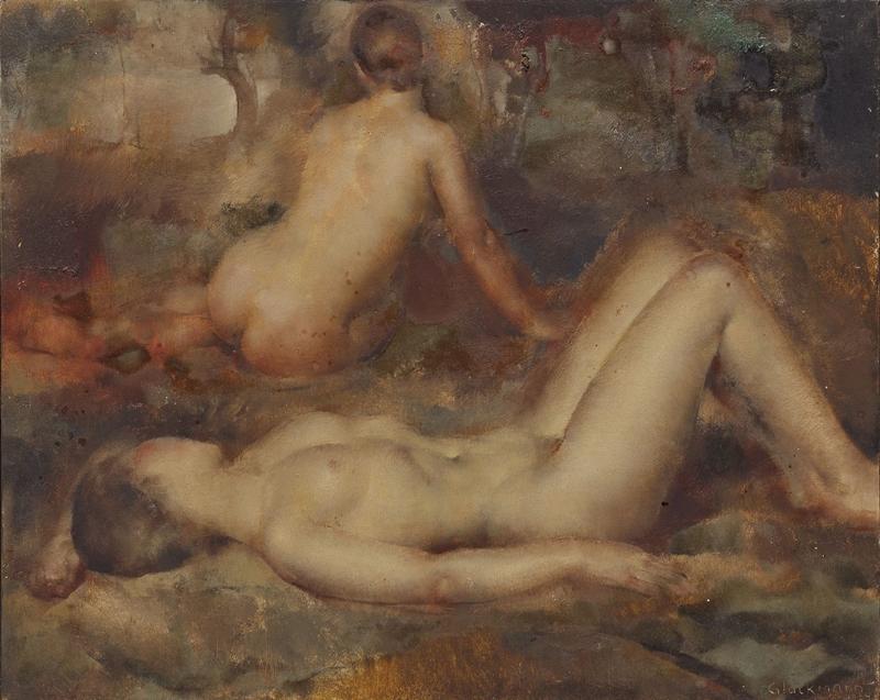 Grigory Gluckmann [Григорий Глюкман] 1898-1973 | Russian-born American painter