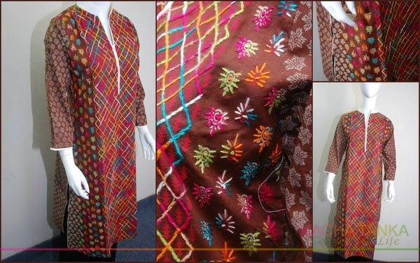 Kacha Tanka Designer Dresses 2014