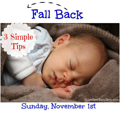 time change baby sleep tips