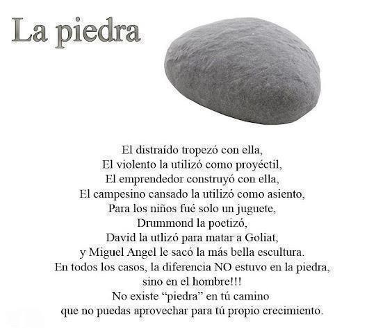 La Piedra...