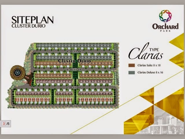 Clarias House Site Plan
