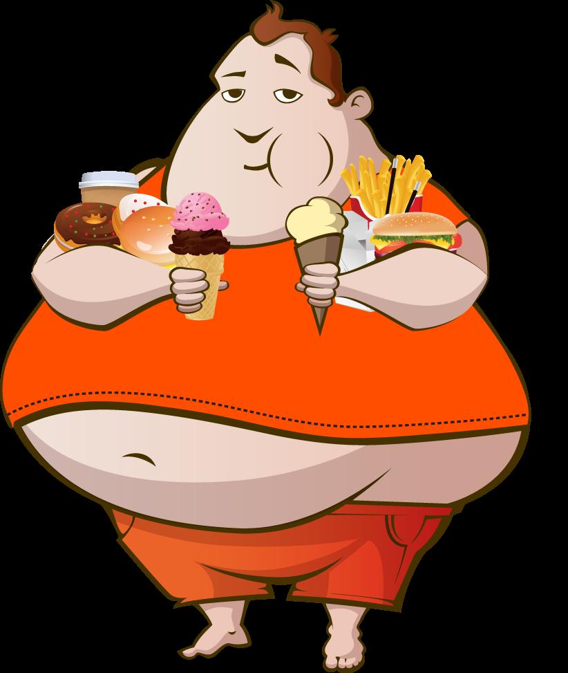 Bulko bulko with bulk of food a fat character amir for Animation cuisine