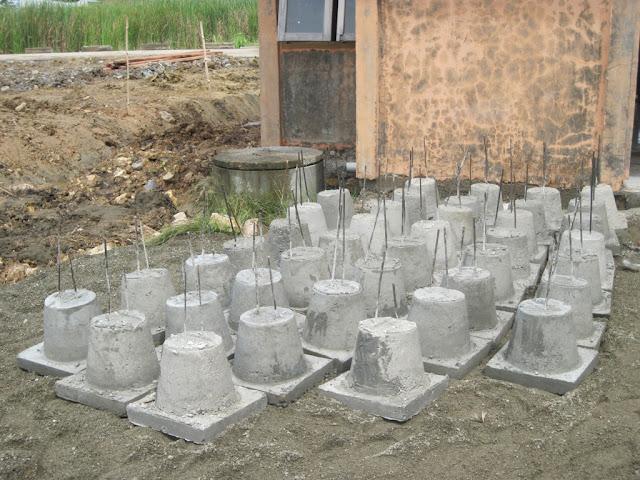 stok umpak beton precast