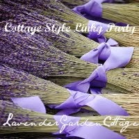 Cottage Style Linky Party