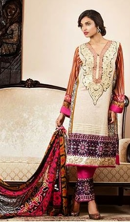 Mahnoor Eid Collection 2014-15