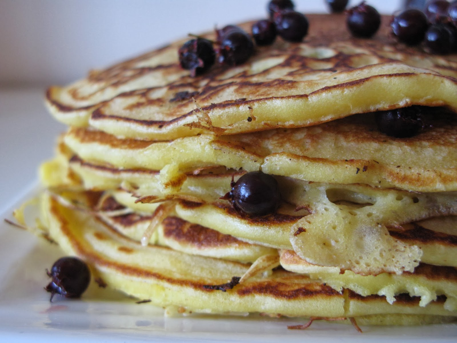 Eat your ornamentals juneberry pancakes prettyproductive make a little well in the middle to pour in your wet ingredients beat into a batter and add three quarters of the berries well ccuart Images