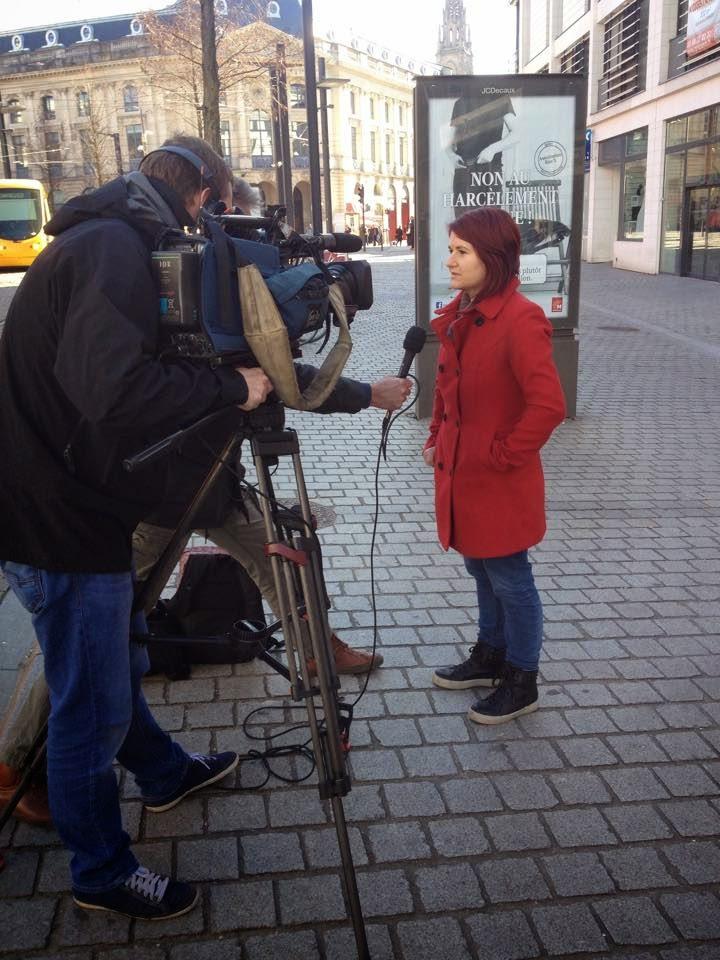 Reportage France 3 Alsace sur le harcèlement de rue