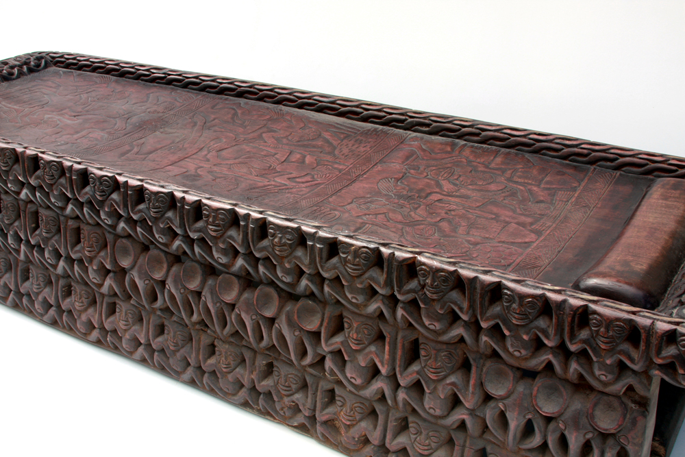 hand carved african wooden benchbed phasesafricacom image by noleen kutash african furniture and decor