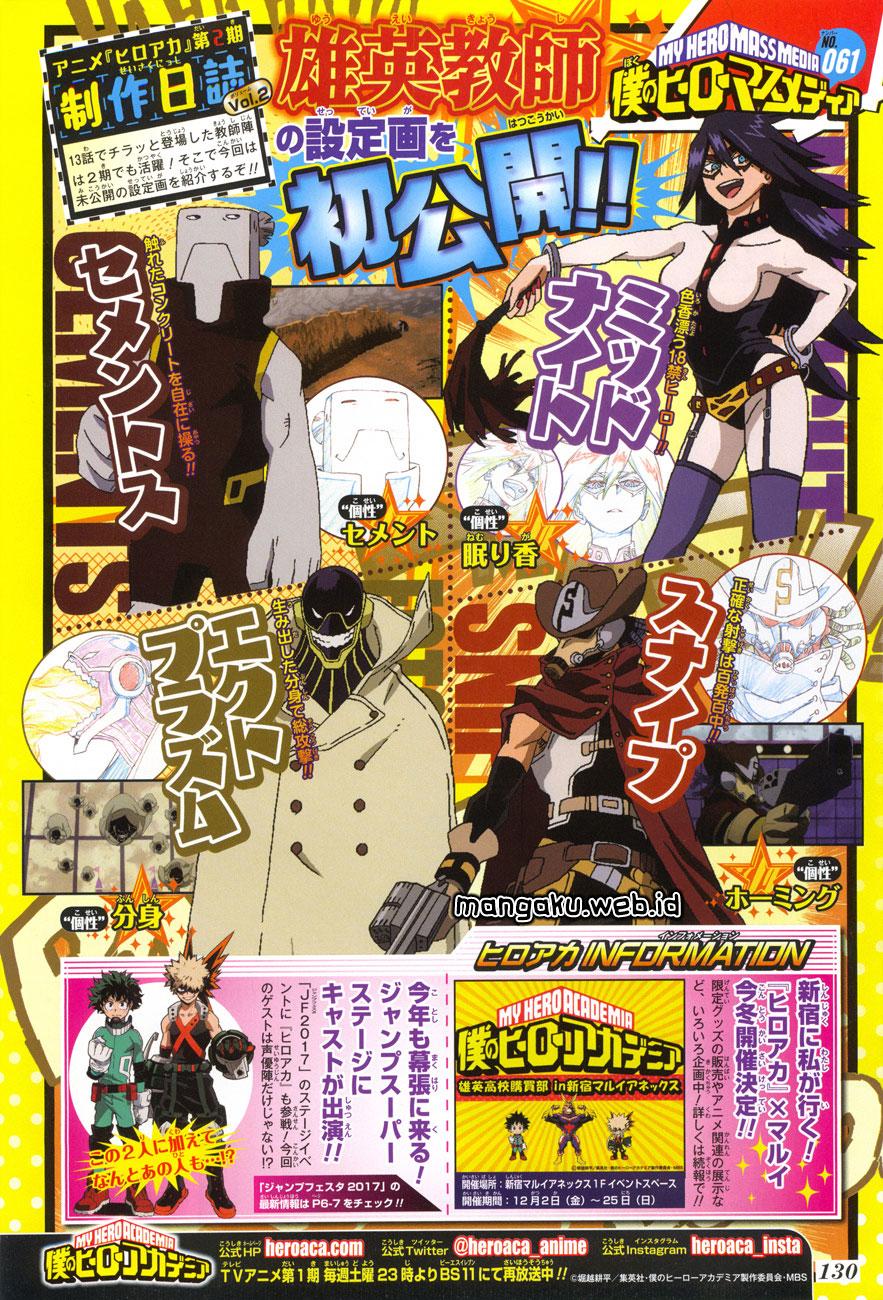 Boku no Hero Academia Chapter 114-2
